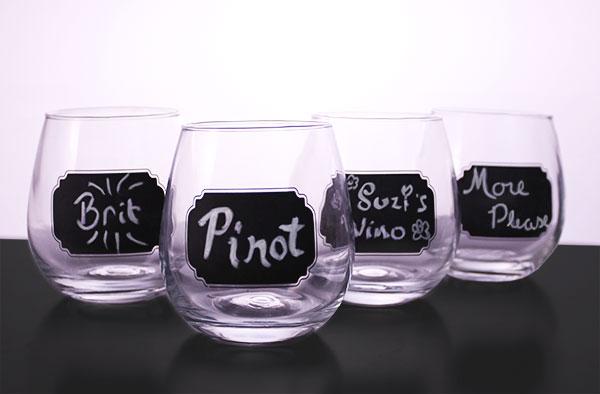 chalkboard-stemless-wine-glasses
